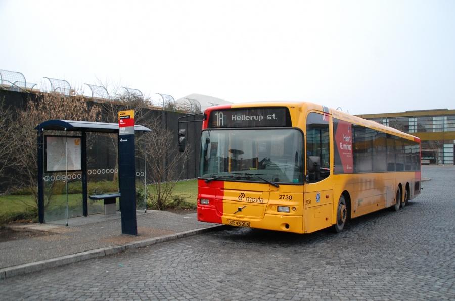 City-Trafik 2730/SR93055 ved Hvidovre Hospital den 22. januar 2011