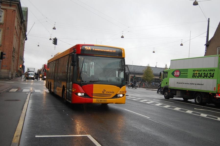 Arriva 1539/TZ89151 på Tietgensgade i København den 28. september 2009