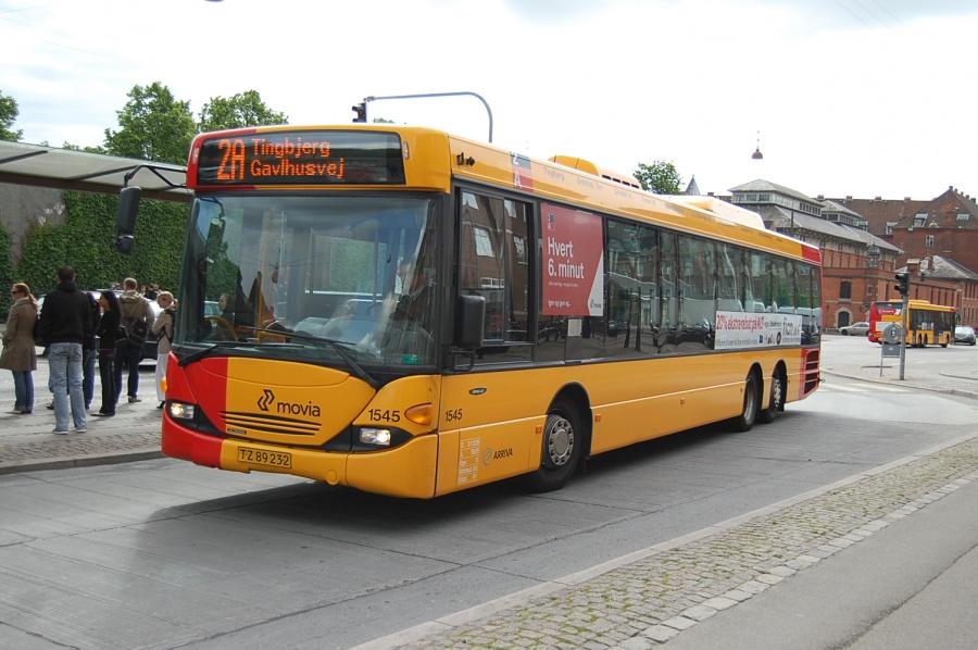 Arriva 1545/TZ89232 ved Københavns Hovedbanegård den 3. juni 2009