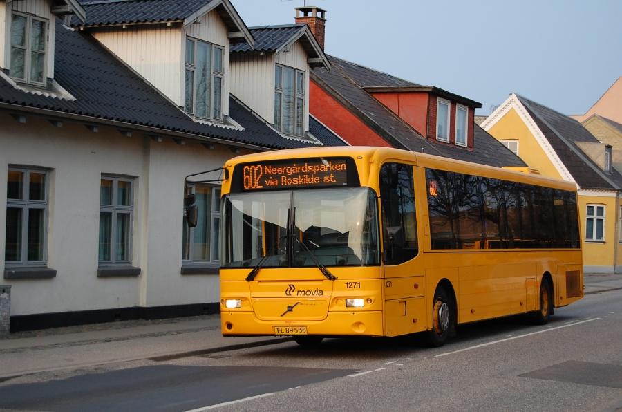 Arriva 1271/TL89535 på Jernbanegade i Roskilde den 7. april 2009
