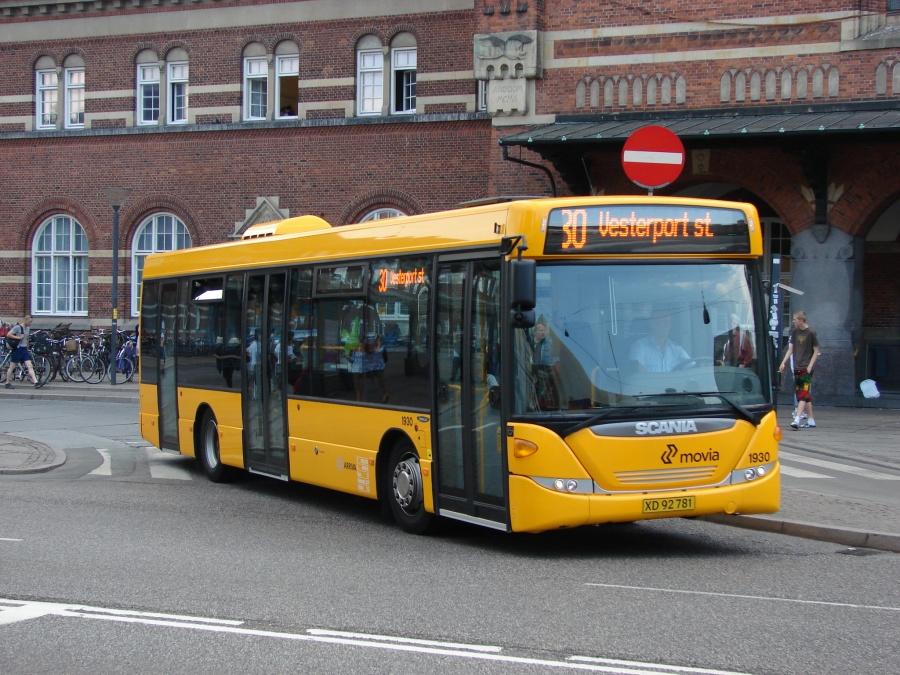 Arriva 1930/XD92781 ved Hovedbanegården i København den 1. juli 2009