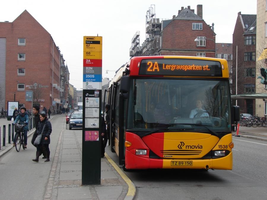 Arriva 1538/TZ89150 ved Forum Station på Frederiksberg den 13. marts 2011
