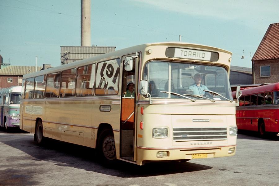 Århus Sporveje 221/BT95350 på Århus rtb. den 31. juli 1975