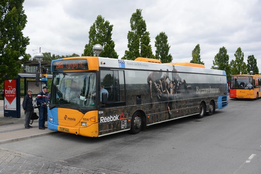 Arriva 1554/TZ89423 ved Friheden st. i Hvidovre den 16. juni 2015