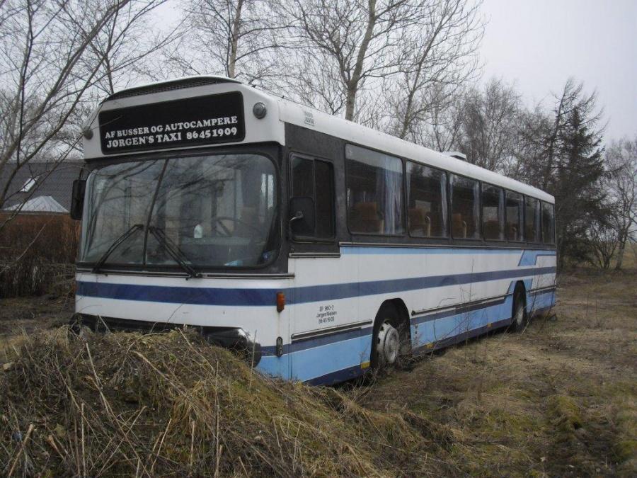 Ex. Hammershøj Turistbusser i Kvorning den 13.marts 2011
