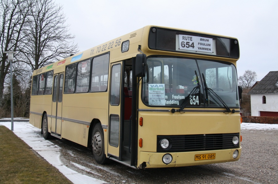 Faarup Rute- og Turistbusser MS91085 i Vammen den 28. februar 2011