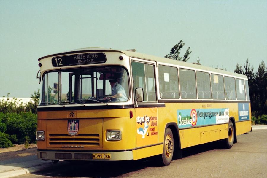 Århus Sporveje 98/AD95046 i Hasle den 30. juni 1976