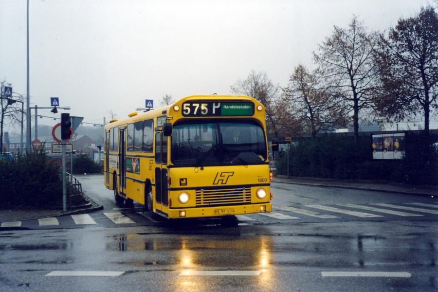 Arriva 1303/HL91579 ved Hillerød Station den 17. november 1999