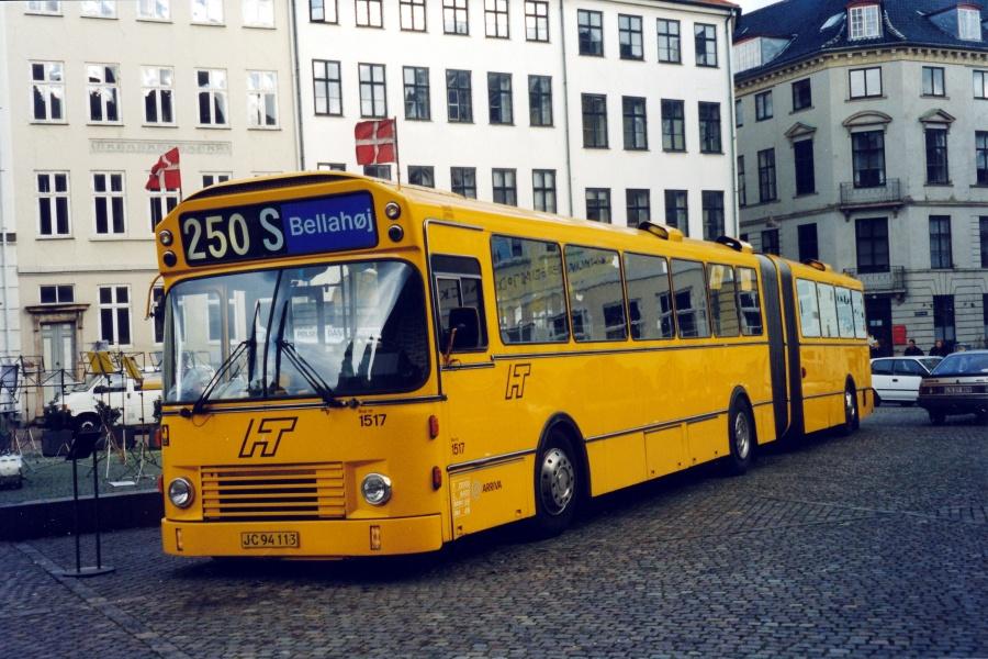 Arriva 1517/JC94113 på Nytorv i København den 1. oktober 1999
