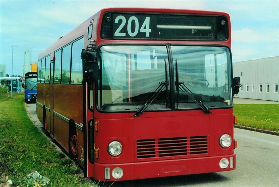 Combus 2201 ved Vejle Busophug den 20. juli 2000