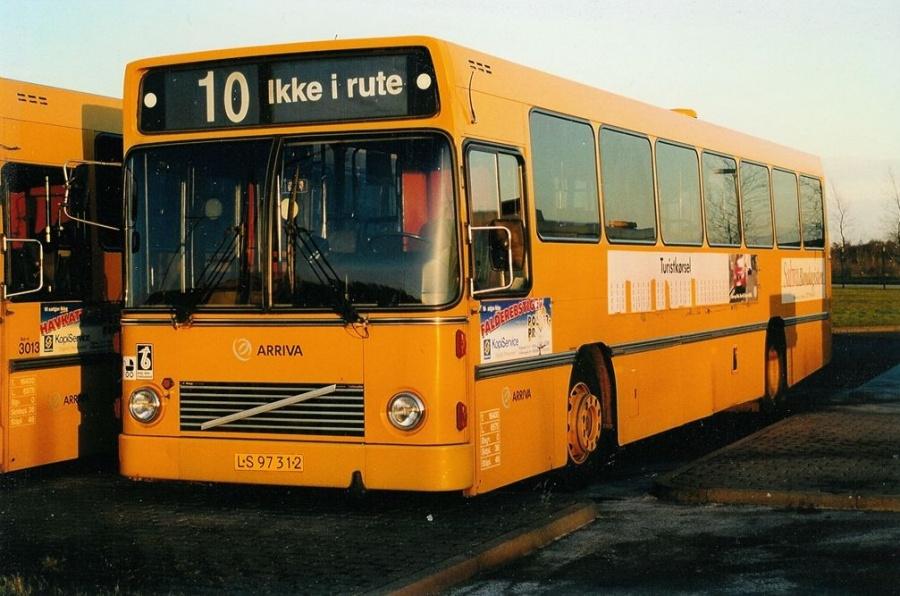 Arriva 3014/LS97312 på Norgesvej 1 i Vejle den 21. marts 2002