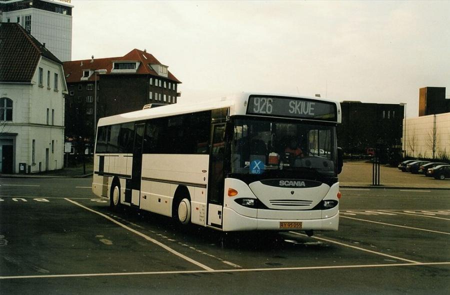 DAB demo RY95055 på Vejle Trafikcenter den 25. januar 2002