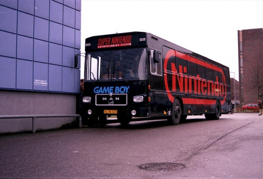 Nintendo OL92323 ved Vejle Trafikcenter den 7. januar 2000