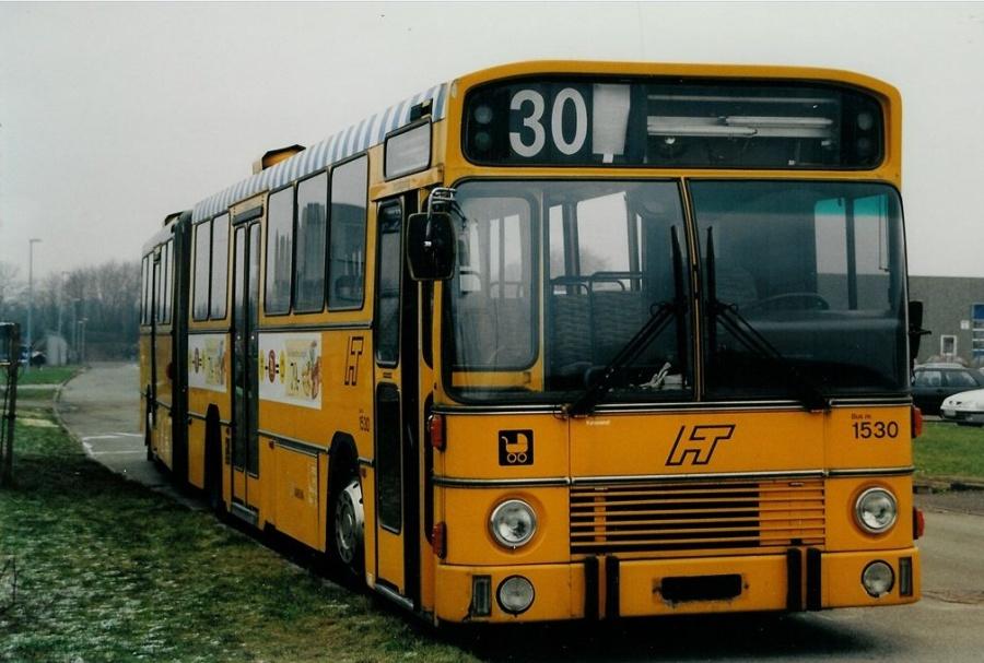 Arriva 1530 ved Vejle Busophug den 18. januar 2001