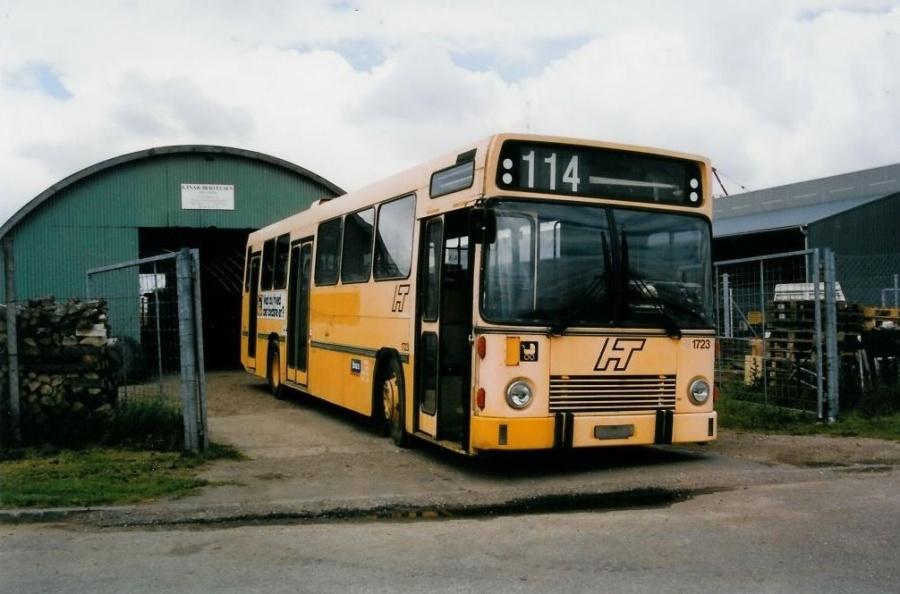 Bus Danmark 1723 ved Vejle Busophug den 25. juni 1999