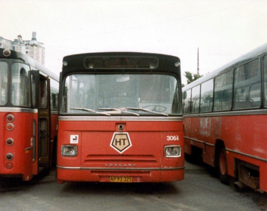HT 3064 udrangeret i Valby garage i august 1984