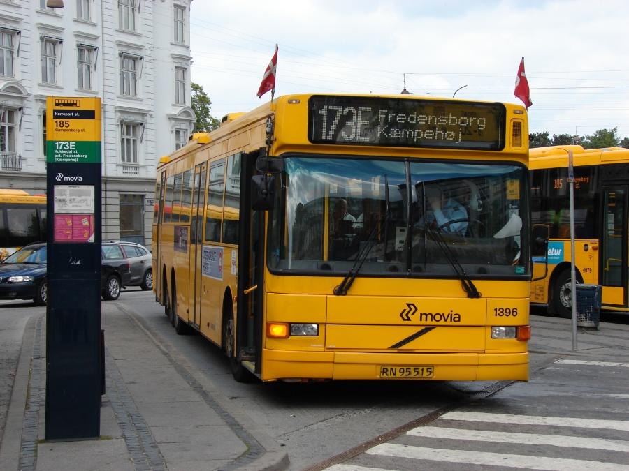 Arriva 1396/RN95515 ved Nørreport Station i København den 5. maj 2011