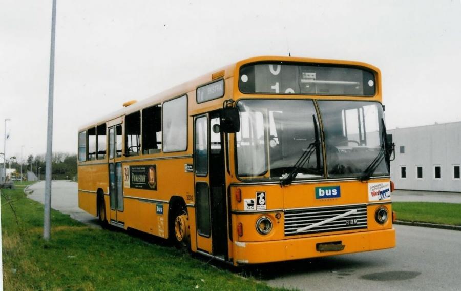 Bus Danmark 3002 ved Vejle Busophug den 24. oktober 1998