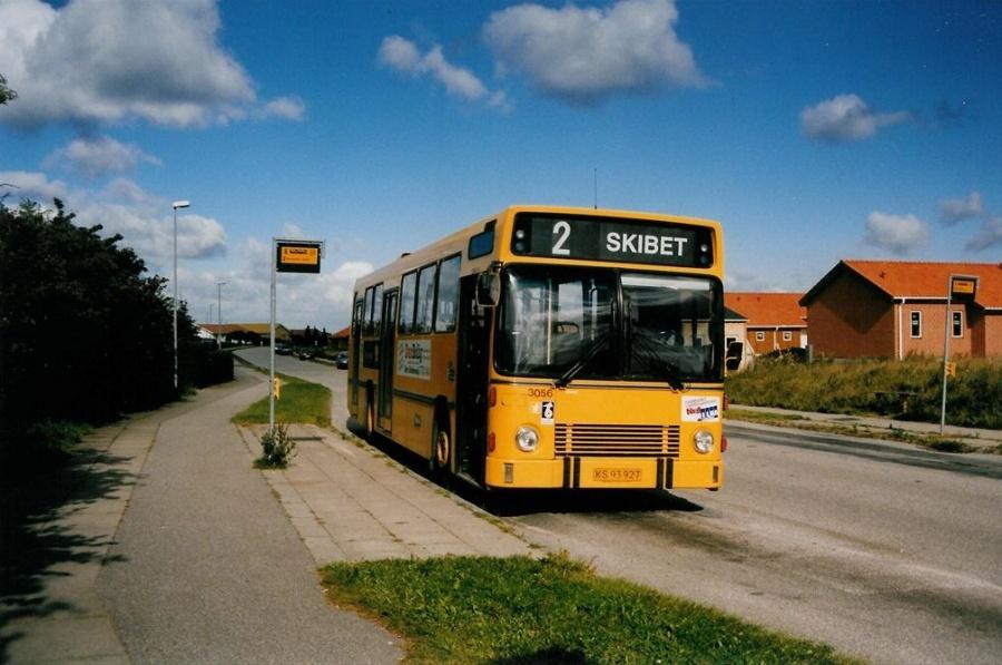 Bus Danmark 3056/KS93927 på Carl Nielsensvej i Vejle den 25. august 1998