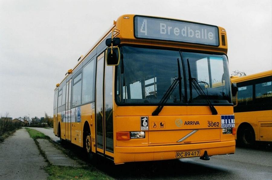 Arriva 3062/RC89417 på Carl Nielsensvej i Vejle den 6. november 1999