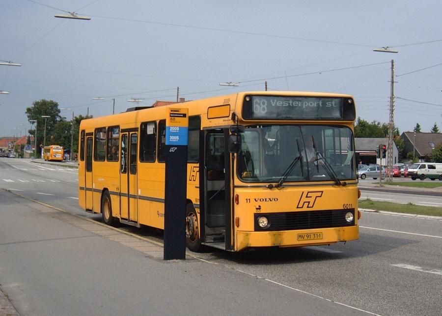 Connex 6011/MV91311 på Buddingevej i Buddinge den 11. juli 2003