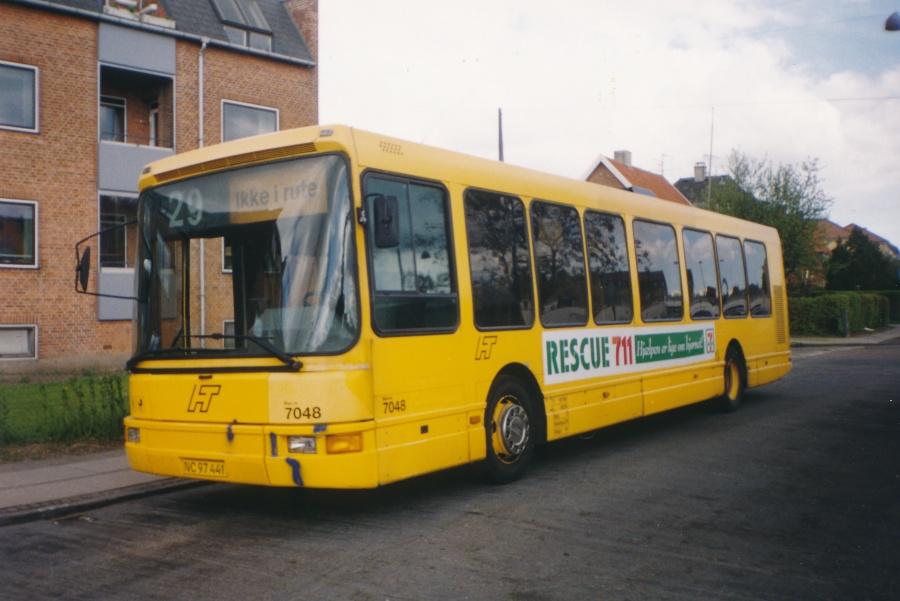 Bus Danmark 7048/NC97441 på Apollovej i Vanløse den 2. maj 1999