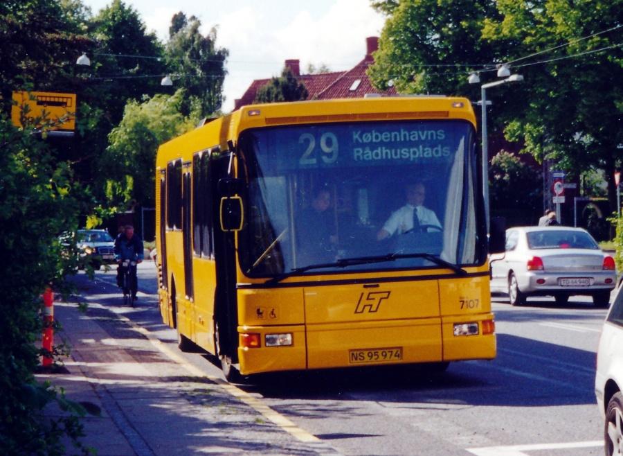 Arriva 7107/NS95974 på Nyelandsvej på Frederiksberg den 30. maj 2000