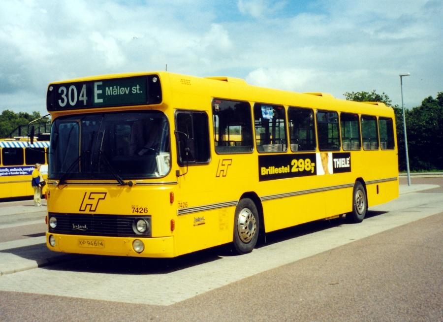 Fjordbus 7426/KP94614 ved Ølstykke Station cirka 1999