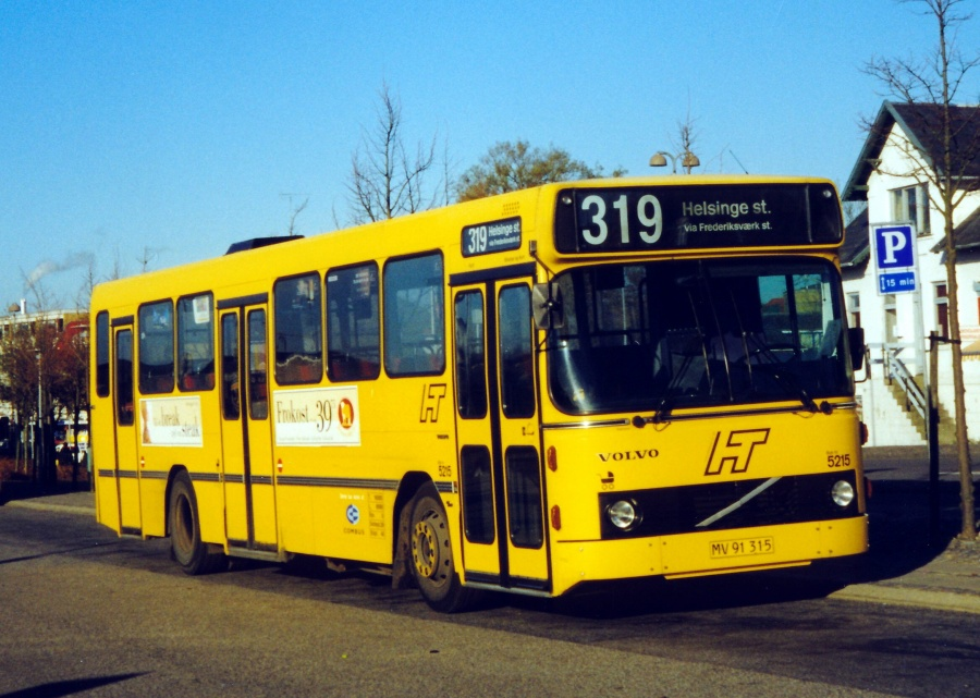 Combus 5215/MV91315 ved Frederikssund Station den 11. november 1999