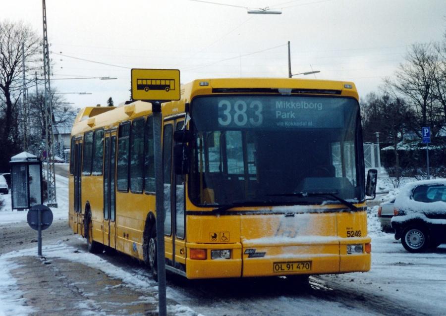 Combus 5249/OL91470 ved Rungsted Kyst Station den 15. december 1999
