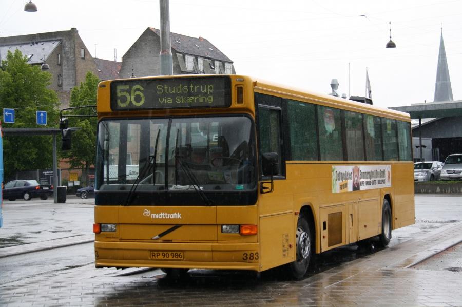 Århus Sporveje 383/RP90986 på Århus rbt. den 16. maj 2011