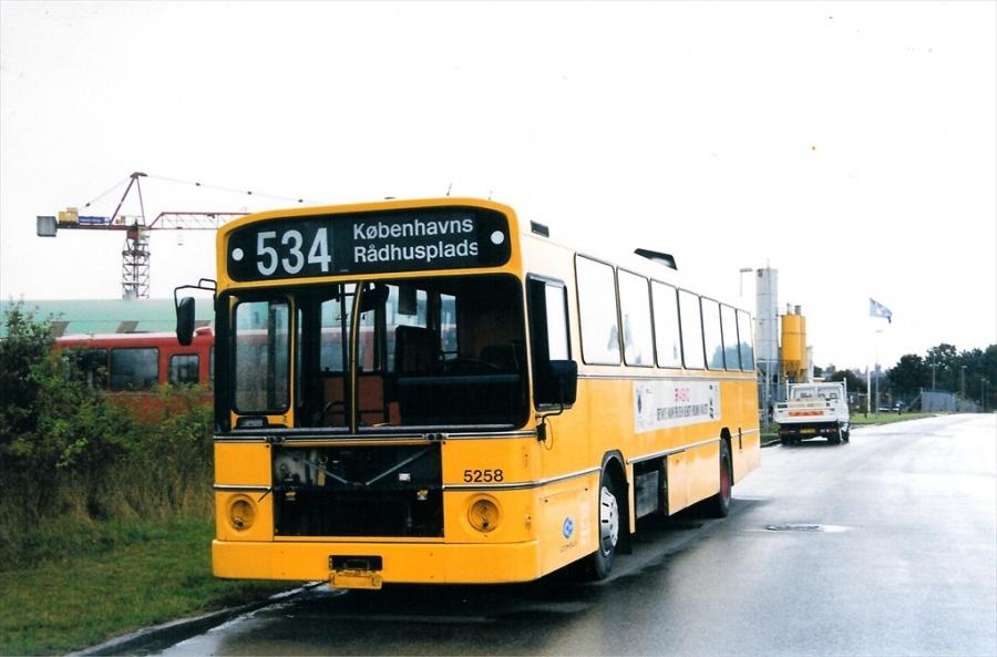 Combus 5258 ved Vejle Busophug den 24. september 1999