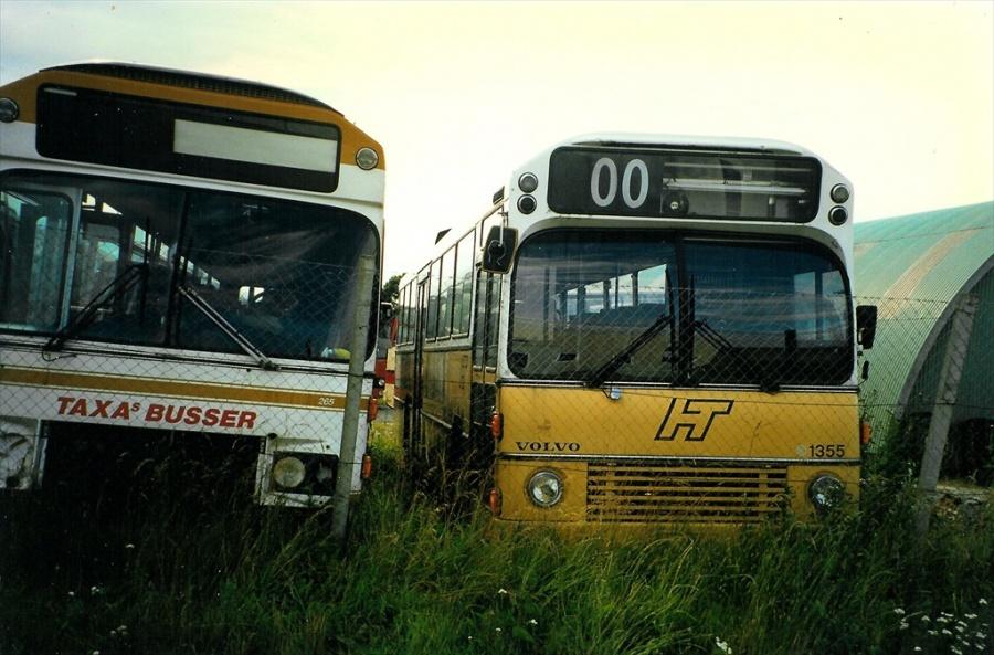 HT 1355 ved Vejle Busophug den 13. juli 1997