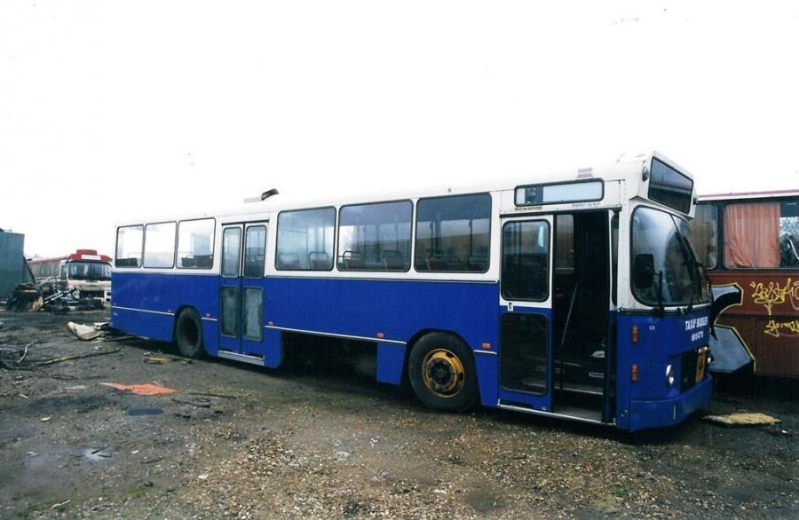 Odense Taxas Busser 474 ved Vejle Busophug den 4. oktober 1999