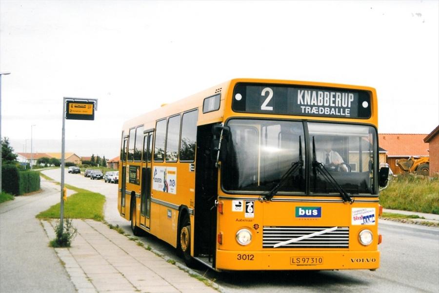 Bus Danmark 3012/LS97310 på Carl Nielsensvej i Vejle den 24. august 1998