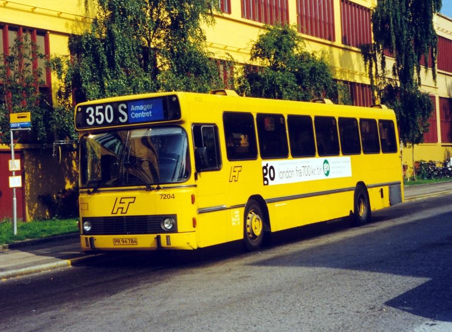 Linjebus 7204/PR94784 ved Amager Centret i København den 11. september 1999