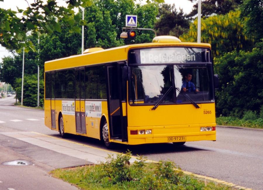 Combus 5265/OD97231 på Åkandevej i Husum den 19. maj 2000