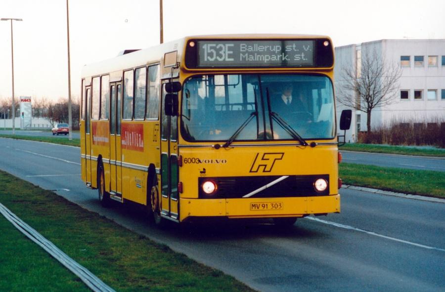 Connex 6003/MV91303 i Lautrupparken i Ballerup den 20. december 2000
