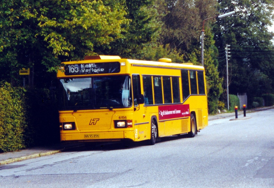 Connex 6156/NN95856 på Aldershvilevej i Bagsværd den 10. september 2000