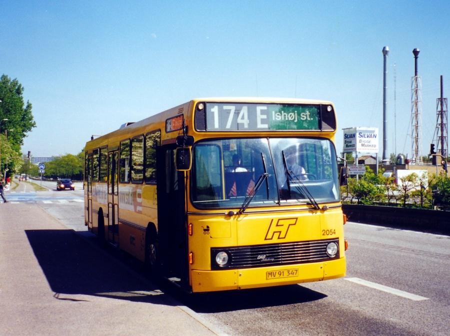 City-Trafik 2054/MV91347 på Gladsaxe Ringvej den 11. maj 2000