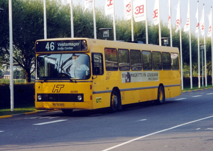 City-Trafik 2065/MB92565 ved Bella Center i København den 9. september 1999