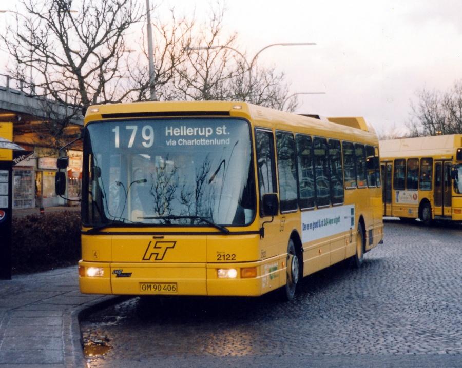City-Trafik 2122/OM90406 ved Lyngby Station den 14. februar 2000
