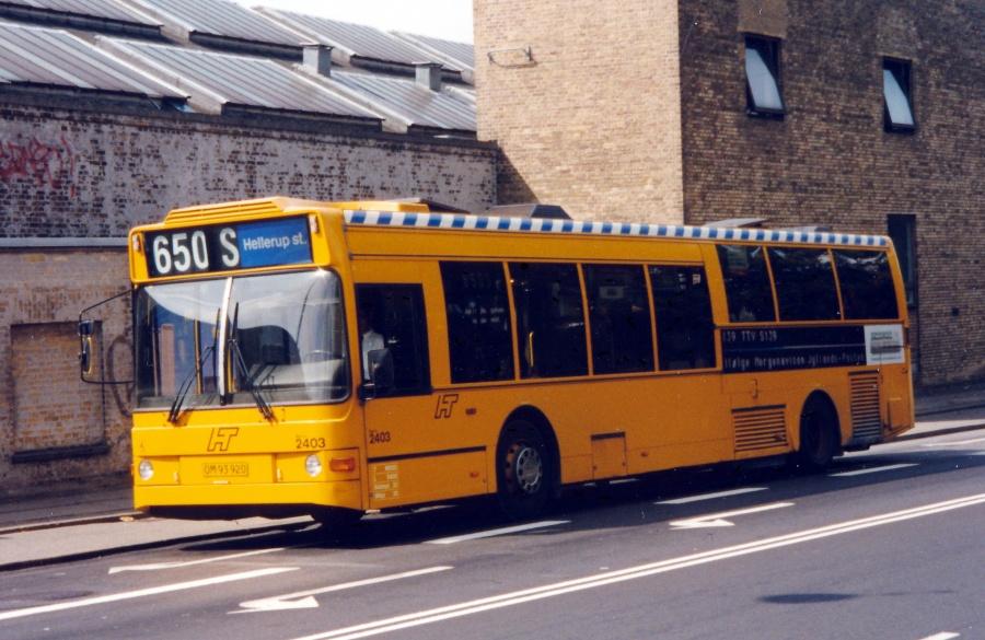 City-Trafik 2403/OM93920 på Vigerslev allé i København den 14. august 1999