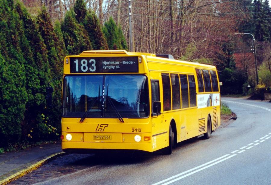 City-Trafik 2412/OP88561 på Lundtoftevej i Lundtofte den 23. november 2000