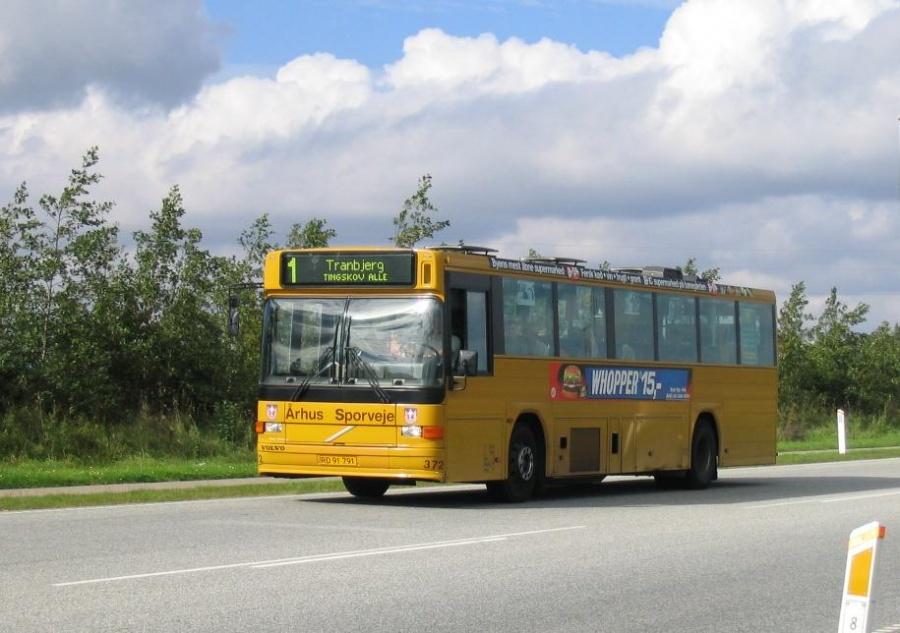 Århus Sporveje 372/RD91791 på Landevejen nær Slet den 6. september 2004