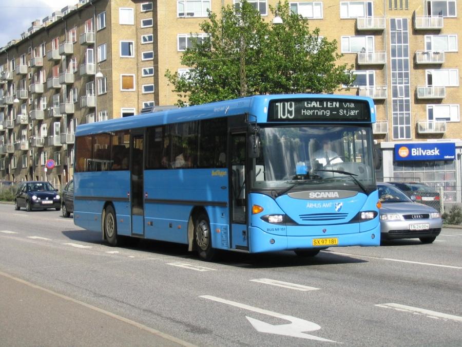 Bent Thykjær 151/SX97181 på Skanderborgvej i Århus den 6. september 2004