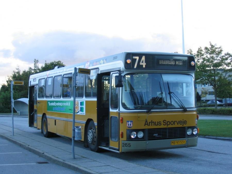 Århus Sporveje 265/MB93531 i Langkær den 24. september 2004