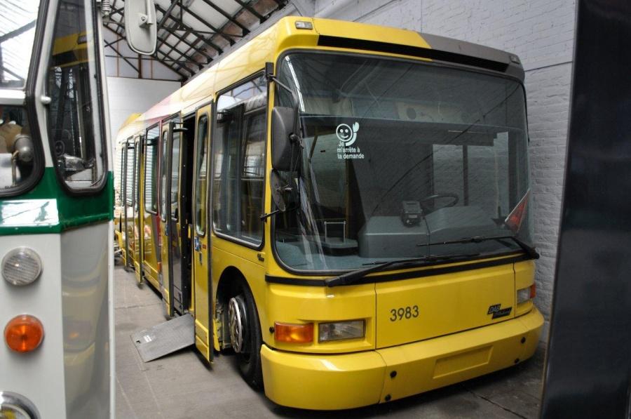 Ex. TEC 3983 på Transport museet i Liegé i Belgien den 6. juni 2011