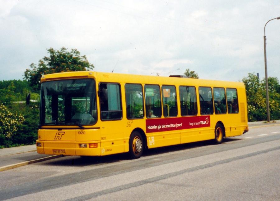Arriva 1920/NK88004 på Kettevej i Avedøre den 23. maj 2000