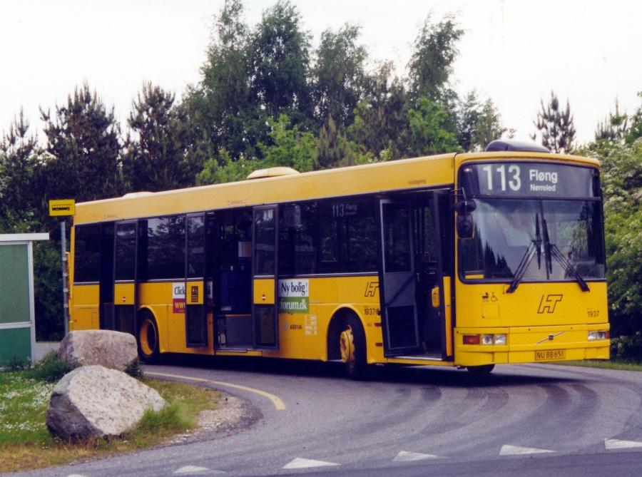 Arriva 1937/NU88651 på Nørreled i Fløng den 22. maj 2000